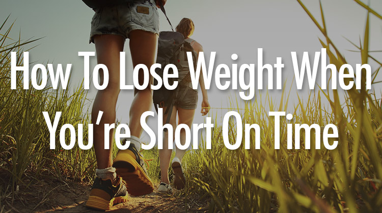 How to lose weight in short period